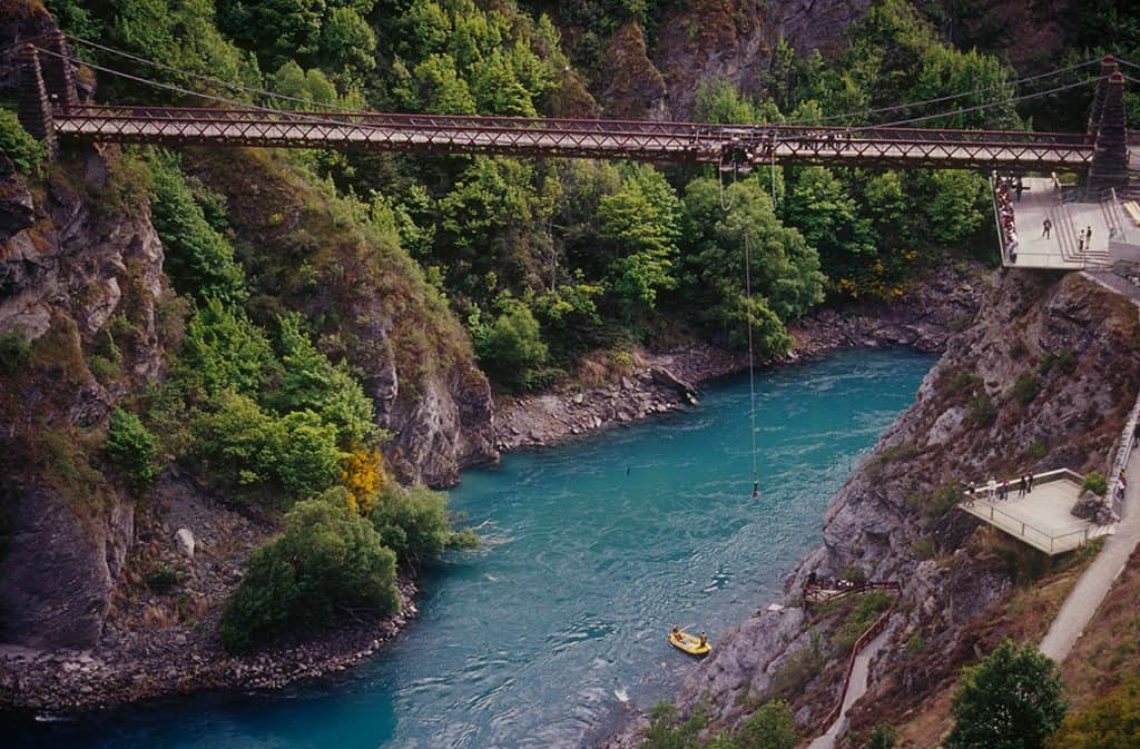 Bungee Jump (Naked!) in Queenstown, New Zealand