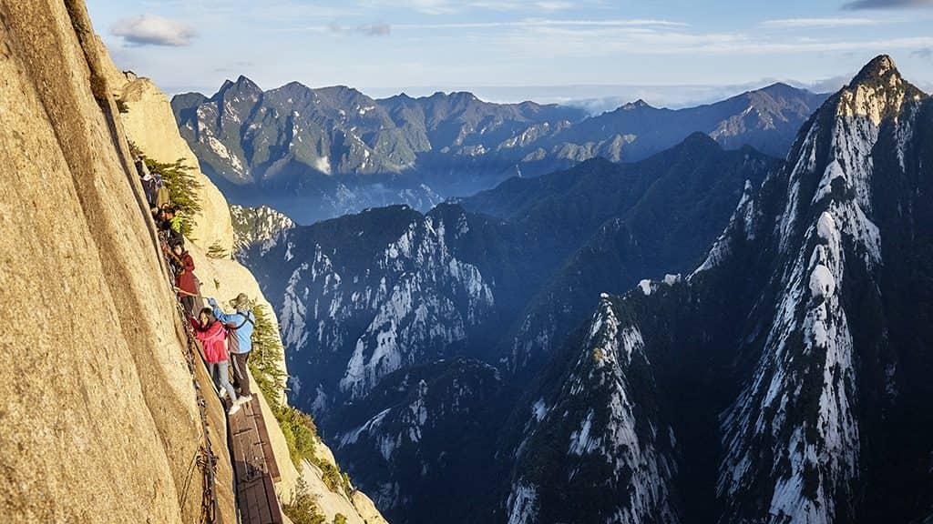Hike China's Most Dangerous Mountain