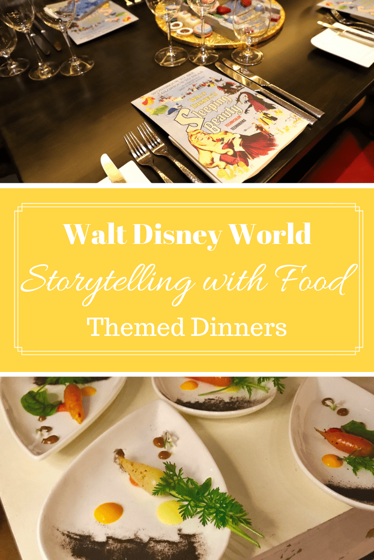 The chefs who conjure up the most incredible events for Disney World Dining have done it again with Storytelling with Food Themed Dinners. #DeliciousDisney #DisneyWorld #OrlandoVacation #DisneyFood