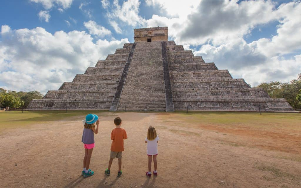 Family Travel Inspiration - Chichen Itza, Mexico