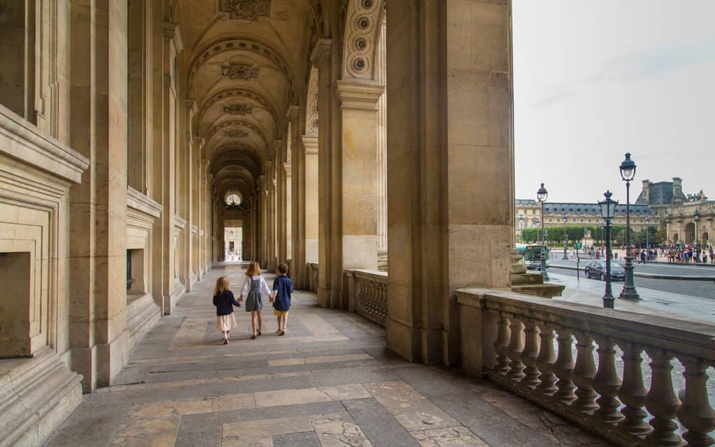 Paris on a Budget - At the Louvre