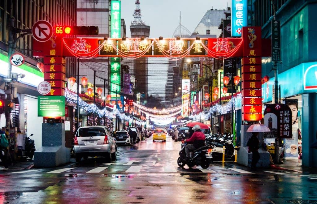 Taiwan, Taipei, night market