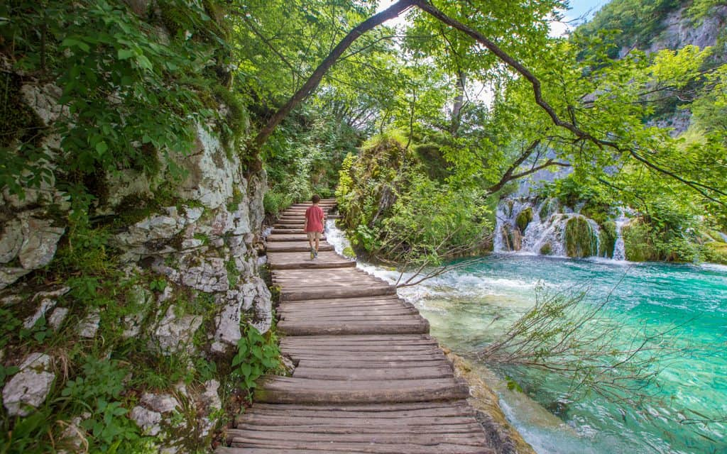 Family Travel Inspiration - At Plitvice Lakes National Park