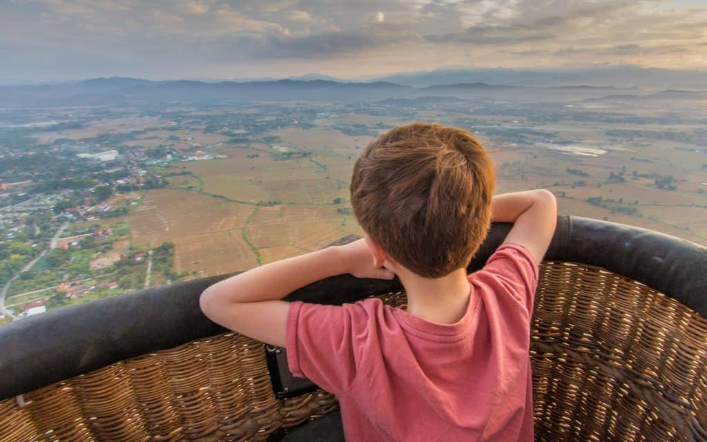 Family Travel Inspiration - Overlooking Chiang Mai, Thailand