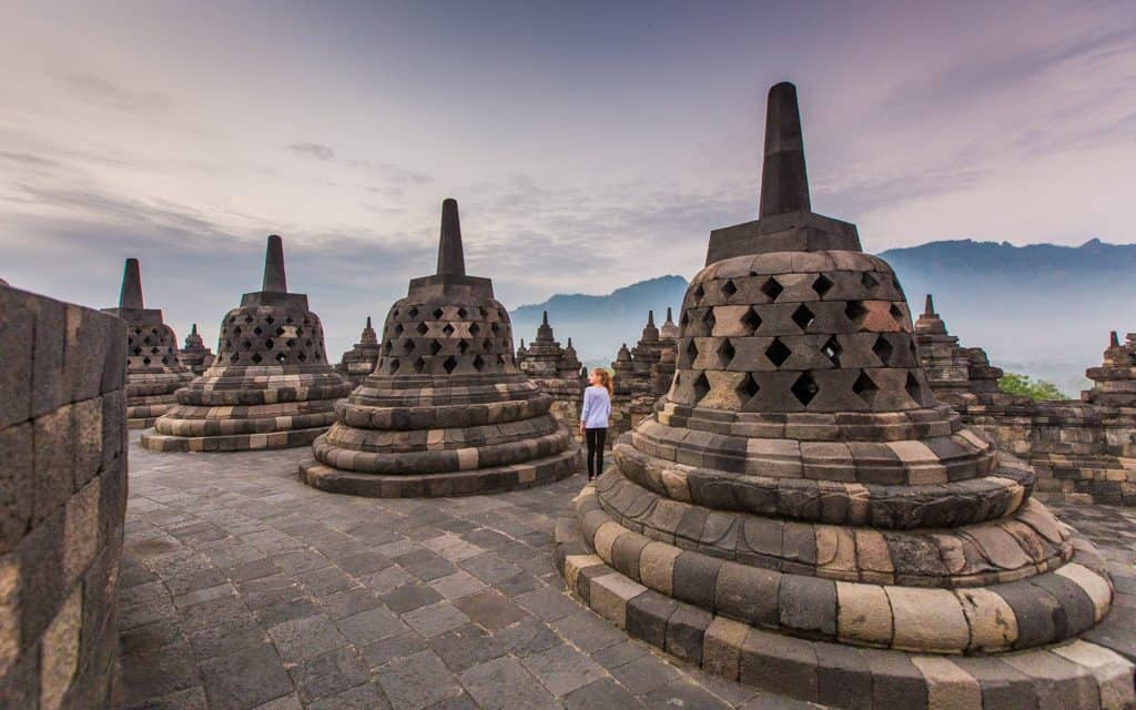 Family Travel Inspiration - At Indonesia's Borobudur Temple