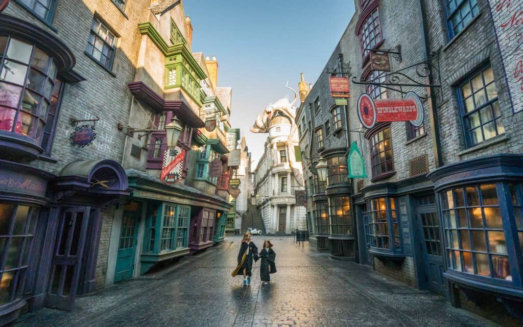 Family Travel Inspiration - In Diagon Alley at Universal Orlando
