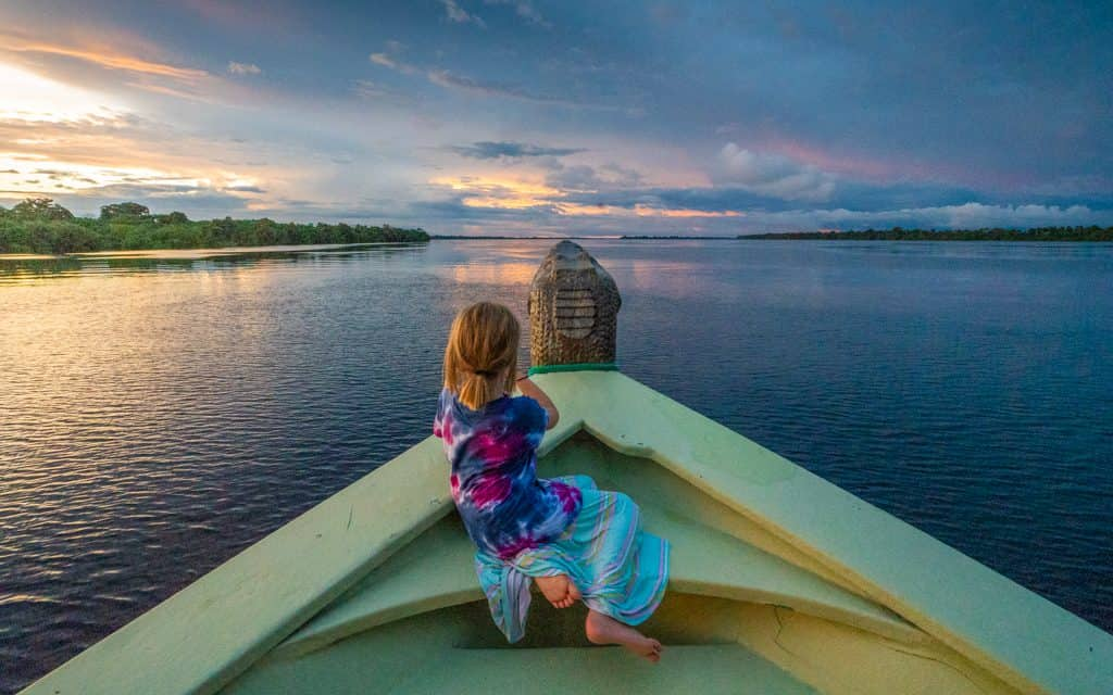 Family Travel Inspiration - On the Rio Negro in Brazil's Amazon Rainforest