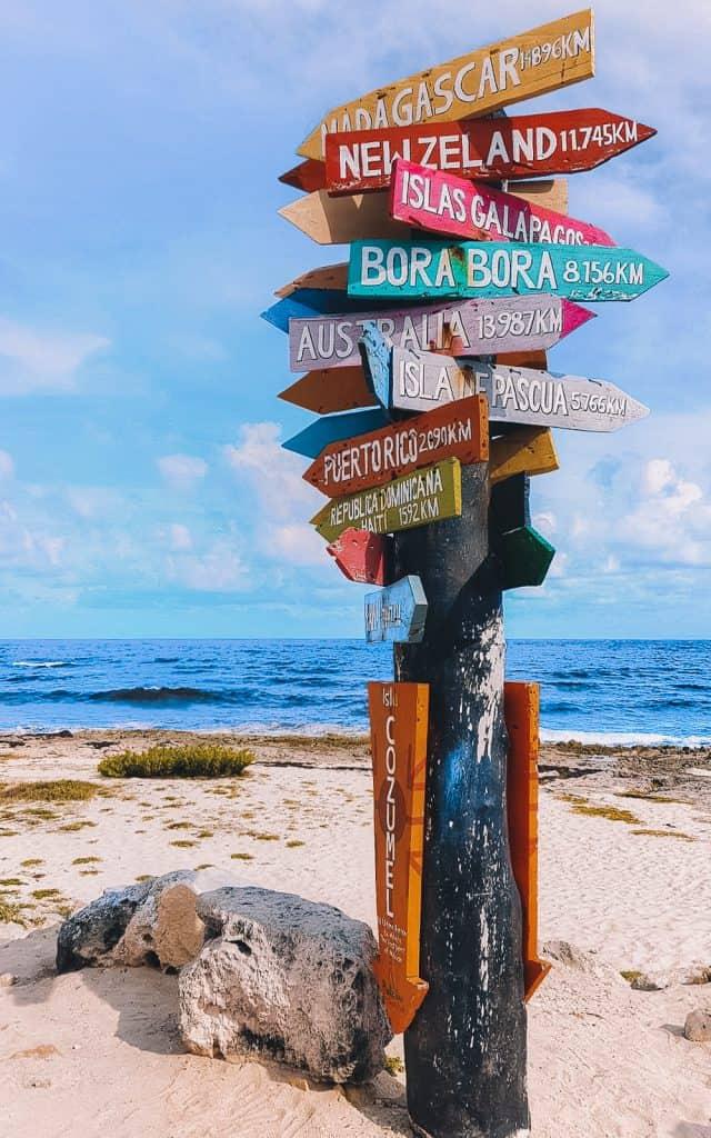 Beach in Cozumel
