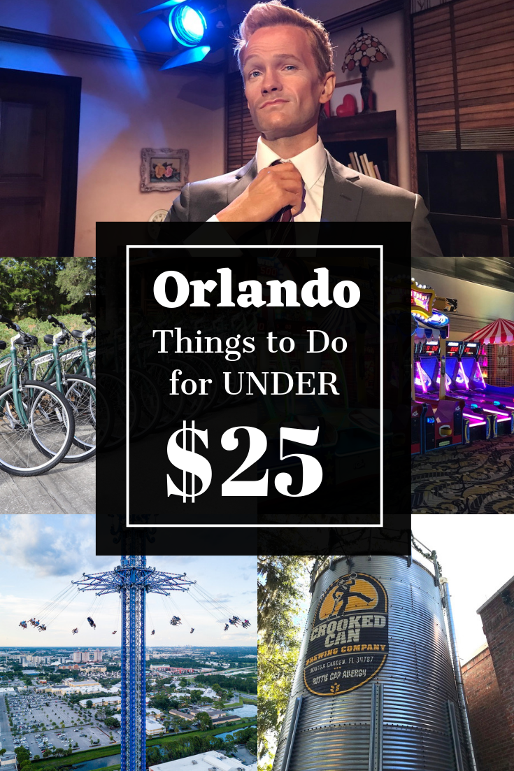 When you think of things to do in Orlando Florida, your first thought is usually the theme parks. Check out these cheap ideas for exploring other areas! #Orlando #VisitOrlando #OrlandoVacation #OrlandoCheap #OrlandoForLess