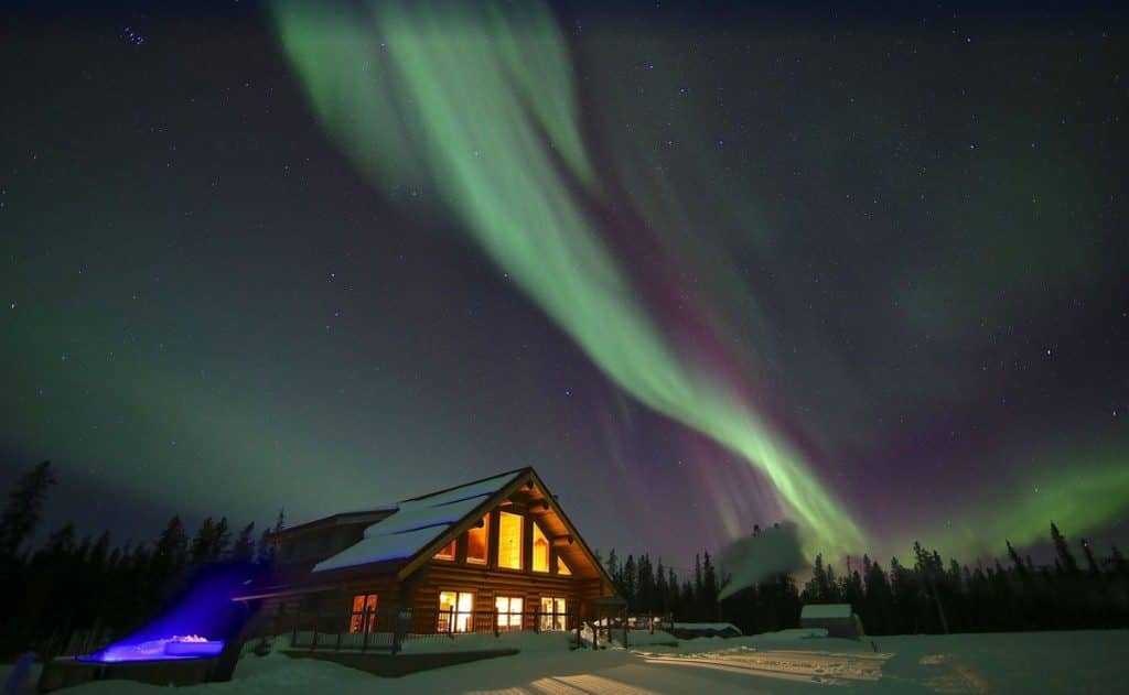 Northern Lights Resort, Yukon, Canada