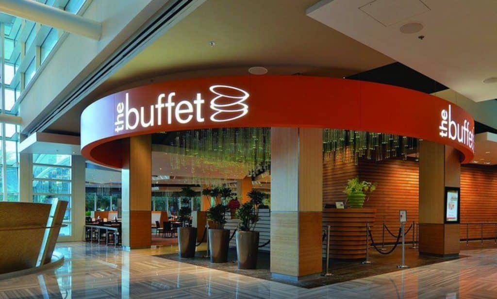 Aria, Vegas, buffet