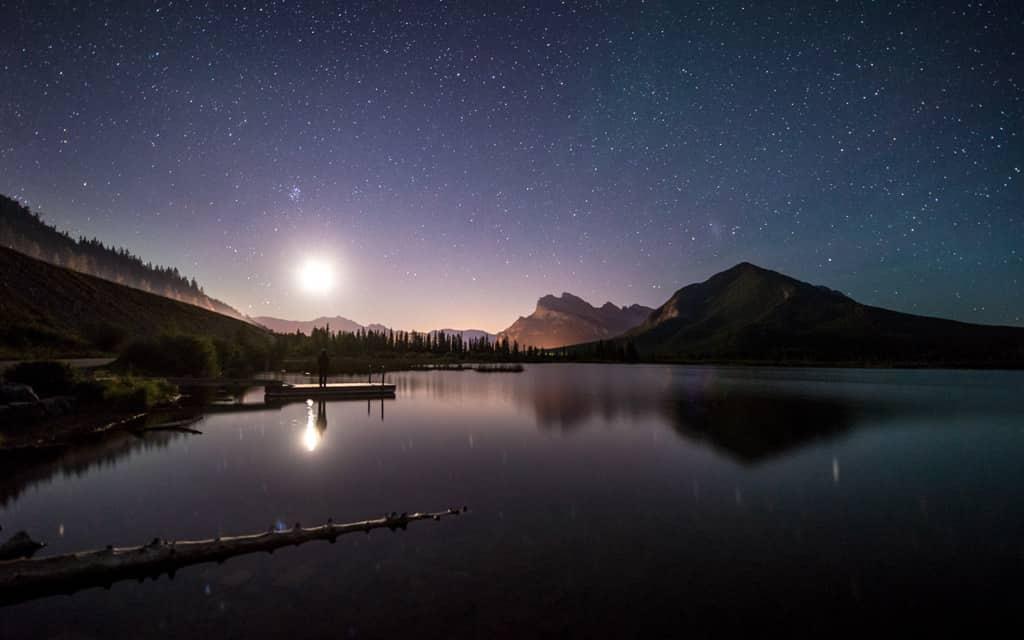 Vermilion, Canada Night Sky