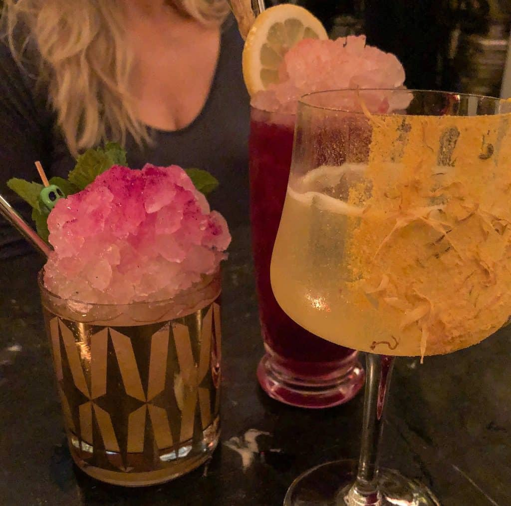 Drinks at Midnight Cowboy