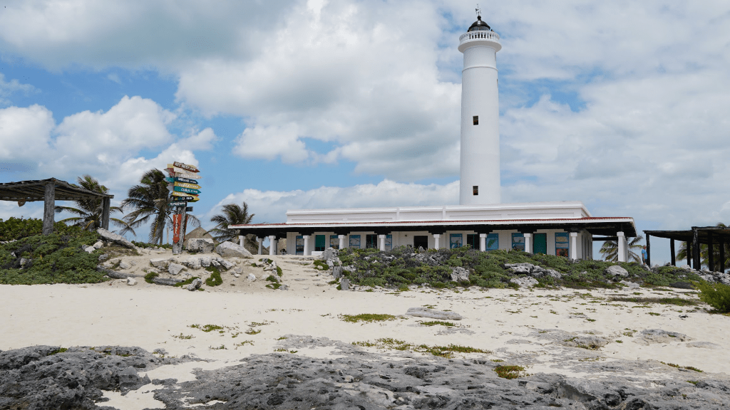 The lighthouse at Punta Sur in Cozumel