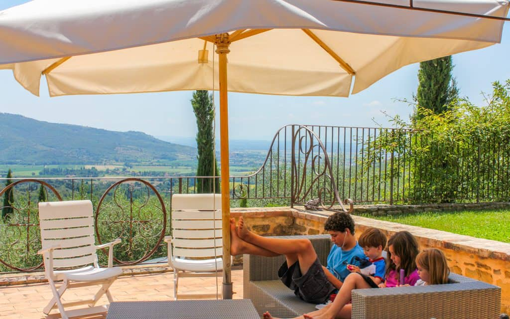 Tips for hot days - Relaxing in Tuscany