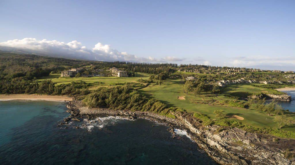 Maui, four seasons, golf