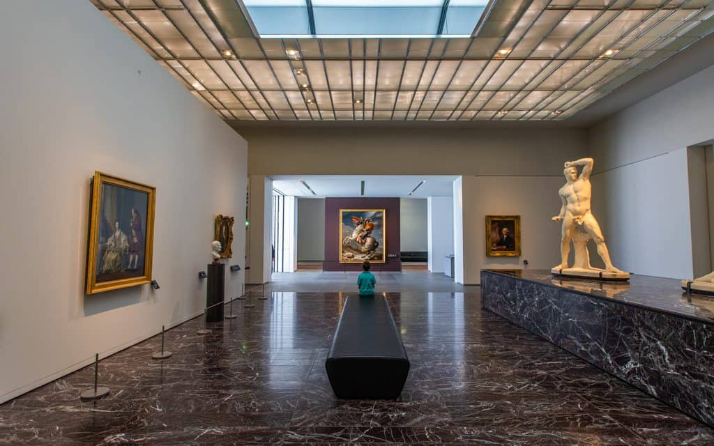 Tips for hot days - The Louvre Abu Dhabi is a great destination during extreme heat (i.e. the entire summer)