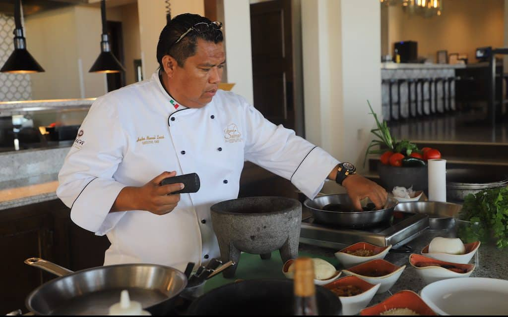 Solmar Resorts in Cabo San Lucas offers 21 places to dine, giving guests choices of sophisticated upscale restaurants to small bites with ocean views.