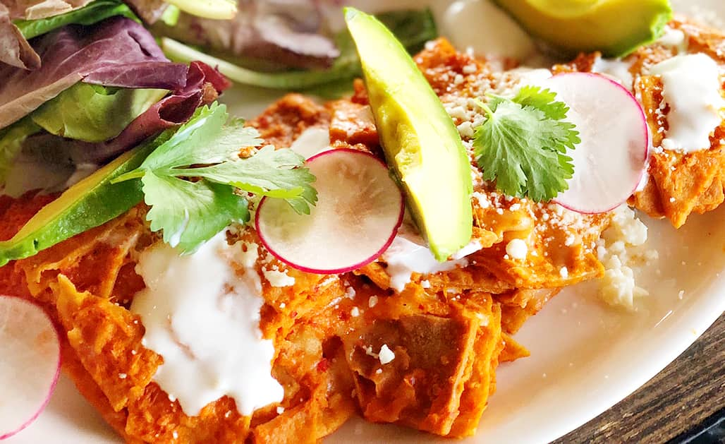 Chilaquiles served at Grand Solmar at Rancho San Lucas - Travelocity.com - #Gnomads #SolmaResorts