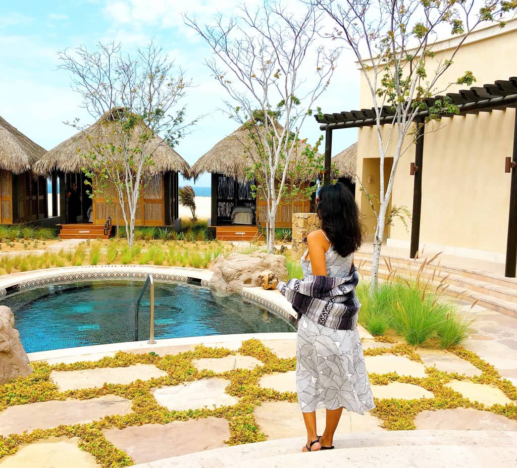 The Spa by the Ocean at Grand Solmar at Rancho San Lucas. photo credit: Pattie Cordova