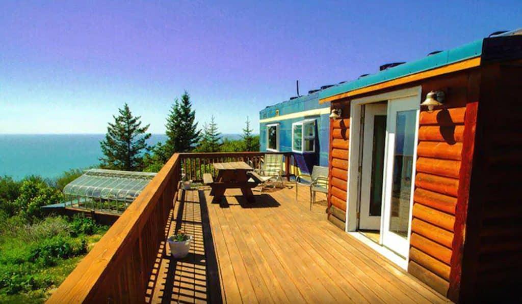 alaska, cabin, glamping