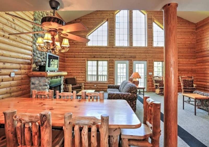 illinois, cabin, glamping