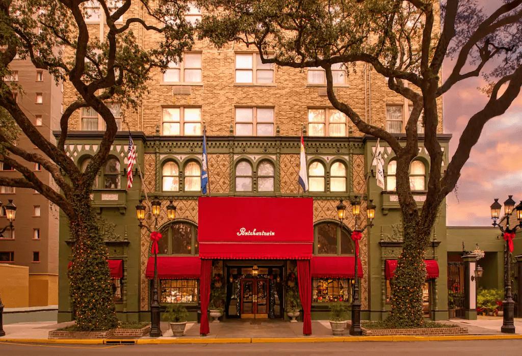 Pontchartrain Hotel.
