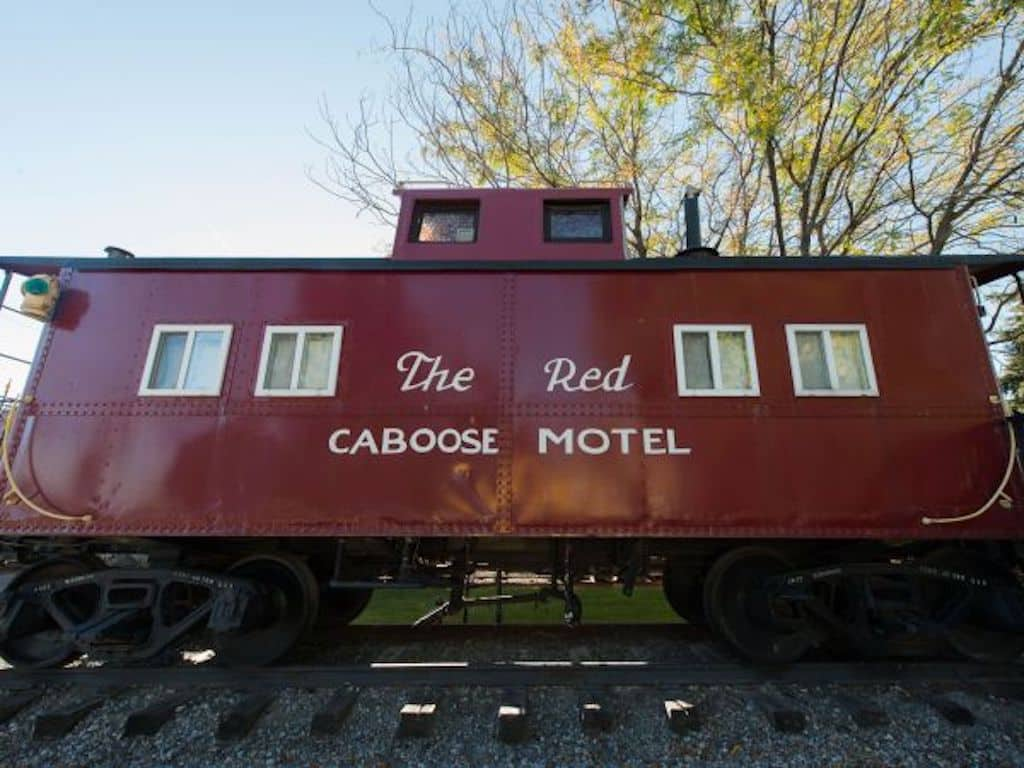 Red Caboose Motel