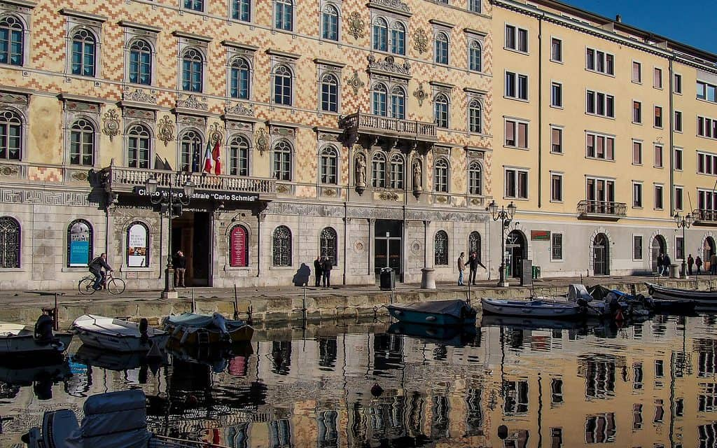 Trieste, Italy water photo