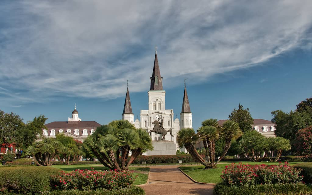Cathedral De New Orleans by Mike Shubic of MikesRoadTrip.com