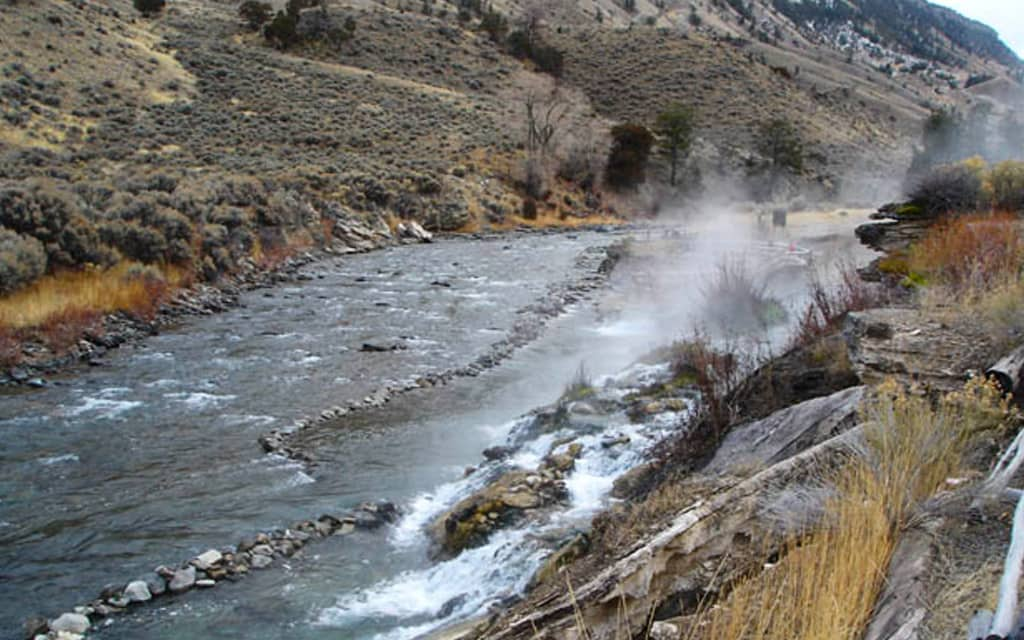 Boiling River Hot Springs - Wyoming