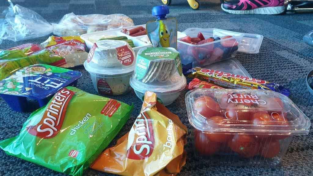 Things You Can Take On A Plane - food