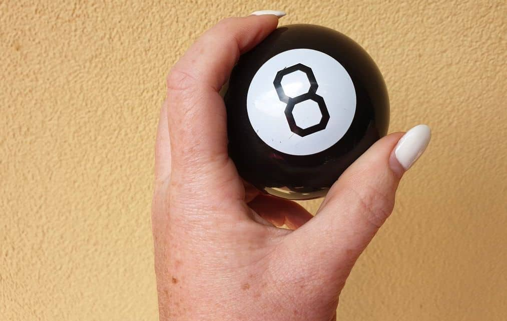 Things You Cant Take On A Plane - Magic 8 Ball