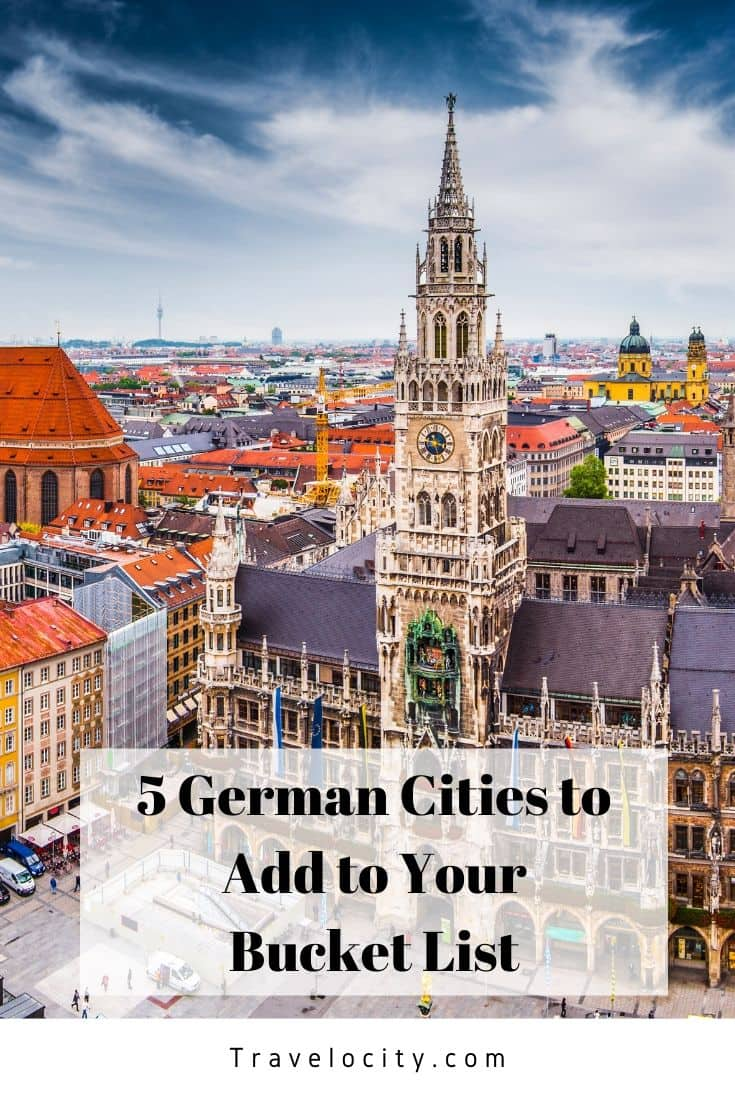 If you want a destination with history, architecture, and adventure, head to Germany. Here are 5 German cities to add to your bucket list and help plan your next trip! - Kirsten Maxwell Travelocity