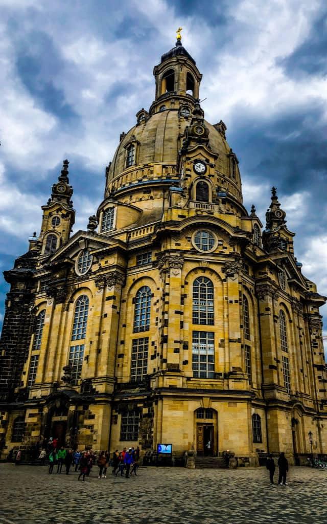 Dresden Old Town Unsplash