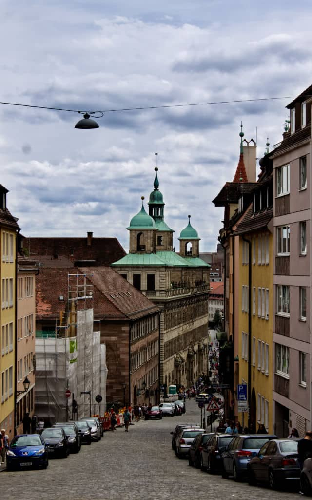 Old Town Nuremberg Unsplash