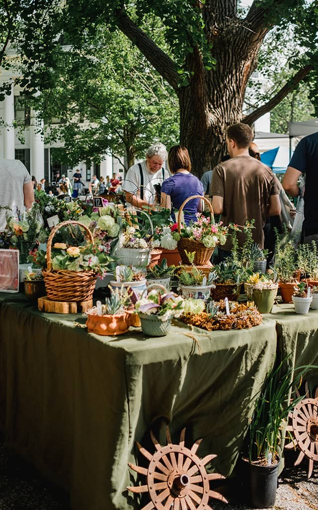 Discovering new Farmer's Markets