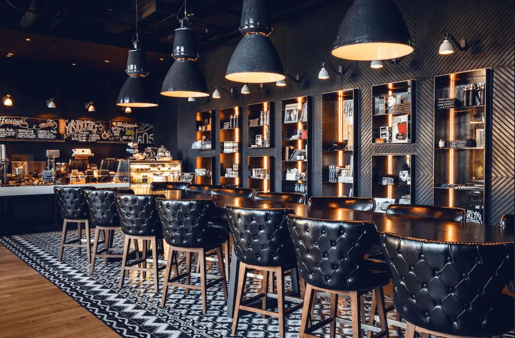 Bar at Hotel Van Zandt