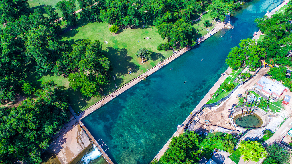 Barton Springs pool_Austin
