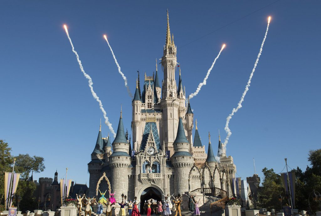 Magic Kingdom's Cinderella Castle
