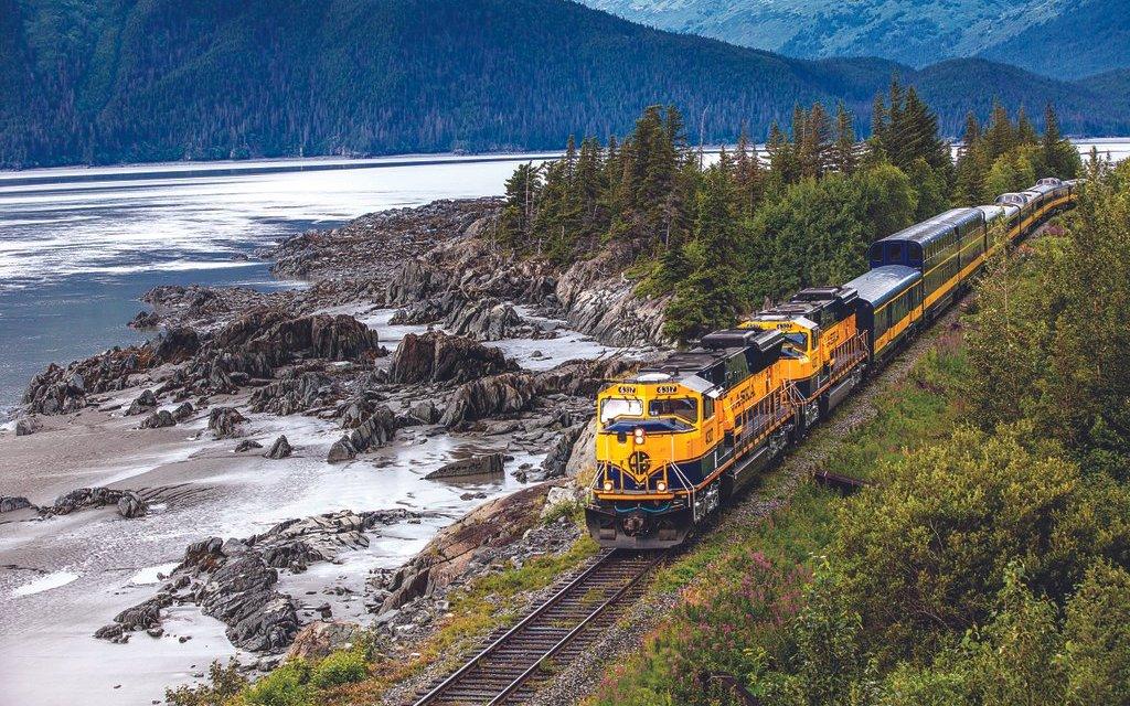 Coastal Classic scenic train trips.