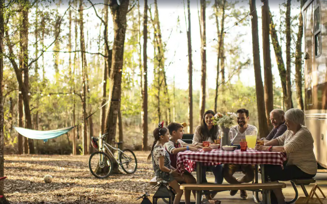 What's it really like to go glamping in the middle of Walt Disney World