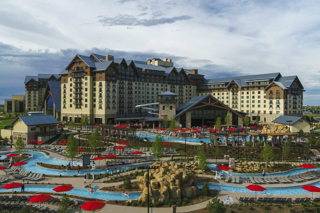 Outdoor view of Gaylord Rockies