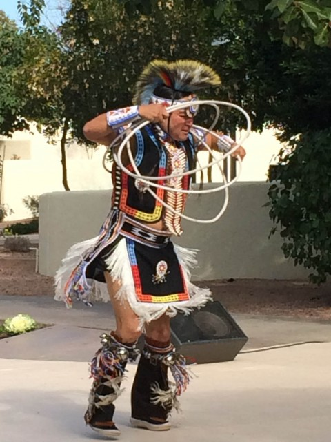 Az Hoop Dancers, Live Like A Local, Photo by PointsandTravel.com