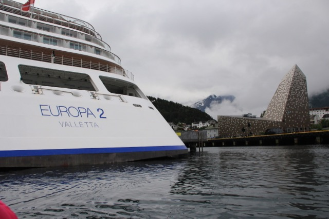 "Oslo, Norway and the ""#1 Luxury Cruise Ship in the World"" that Americans Have Never Heard Of, Europa2, Haplag-Lloyd Cruises"