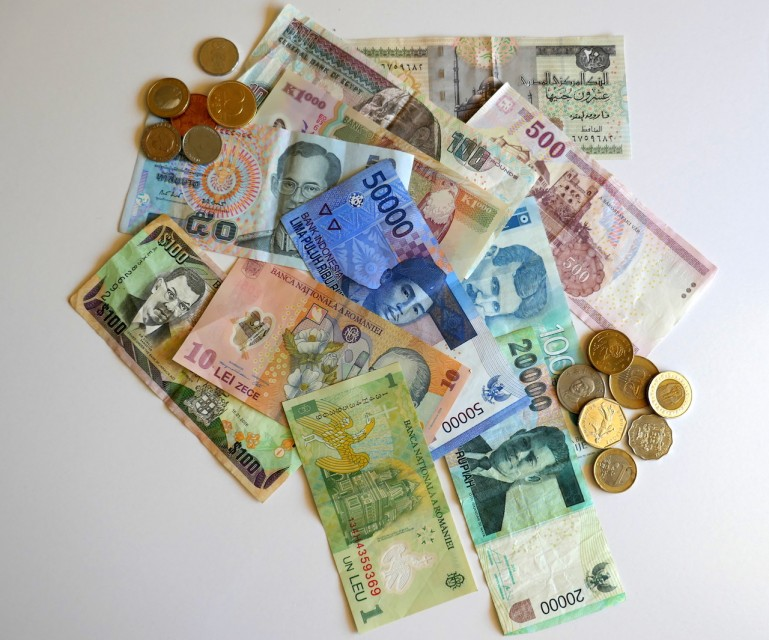 International Currency by Susan Lanier-Graham