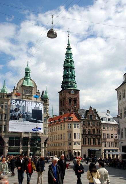 Stroget Street, Copenhagen, Denmark, Things to do in Copenhagen, Denmark