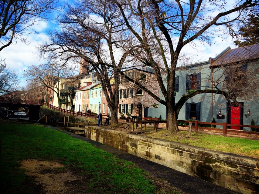 C and O Canal Georgetown