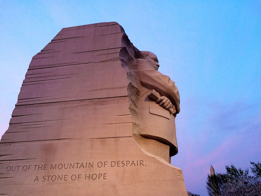 MLK Jr. Memorial in Washington, D.C.