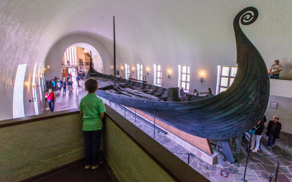 Oslo with kids - At the Viking Ship Museum